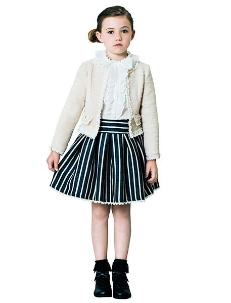 メゾピアノ・女の子のスーツ