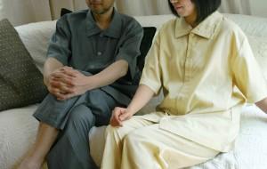 父の日と母の日のペアパジャマ