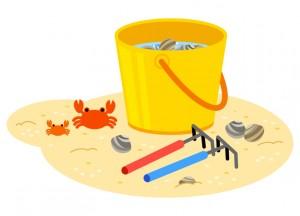 潮干狩りの道具