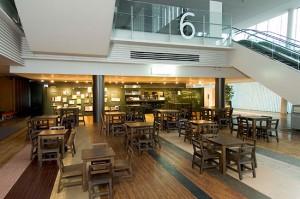 科学未来館のランチレストラン