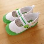 緑の上履き