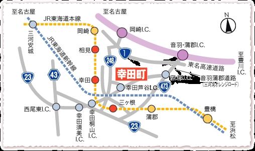 本光寺の地図