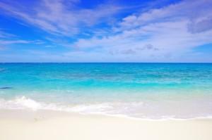 沖縄の綺麗な海