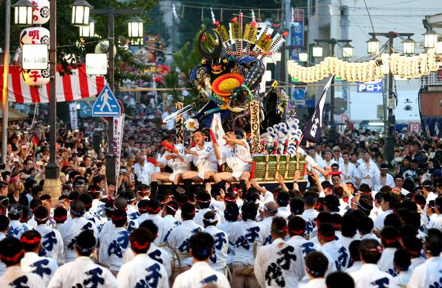 博多祇園山笠とみこし