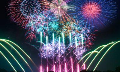 横浜開港祭の花火