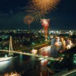 大阪天神祭り花火大会2016日程!穴場情報。屋台や駐車場はなし?