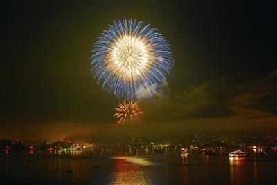 塩竈港まつり 花火