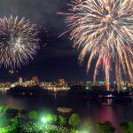 大濠花火大会2016日程!公園の入場規制に注意!穴場・場所取りは?