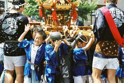 深川八幡祭り 子供神輿
