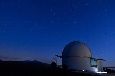 ペルセウス座流星群 観察会