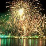 若松みなと祭り2018。くきのうみ花火大会・火祭り行事の日程や時間は?
