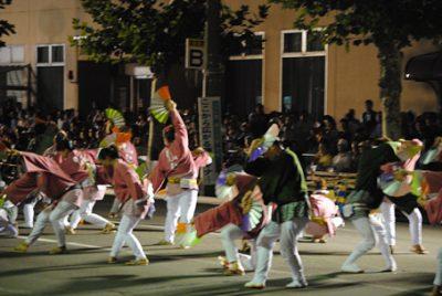 おなごりフェスティバル ダンス
