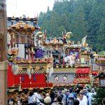 秋の高山祭(八幡祭)2016日程&からくり時間。混雑回避ルートも!