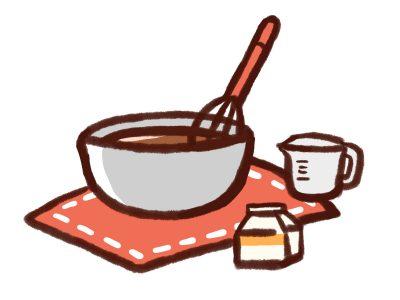 チョコレートのお菓子作り